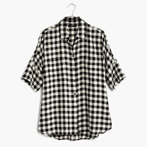 *SOLD* Gingham Madewell Courier